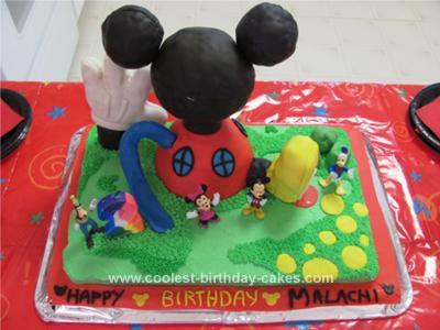 Amazing Coolest Mickey Mouse Clubhouse Birthday Cake Personalised Birthday Cards Xaembasilily Jamesorg