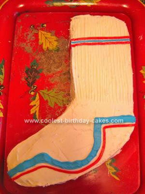 Homemade Mid Calf Lacrosse Sock Cake