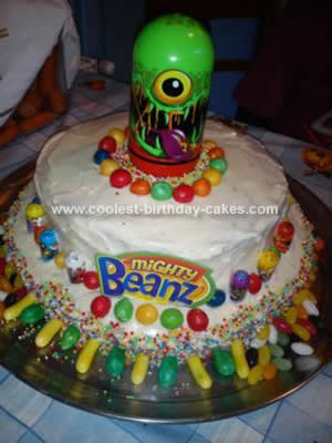 Homemade Mighty Beanz Cake