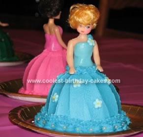 Homemade Mini Doll Cake
