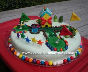 Mini Golf Cake