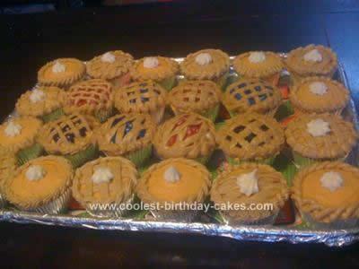 Homemade Mini Pie Cupcakes