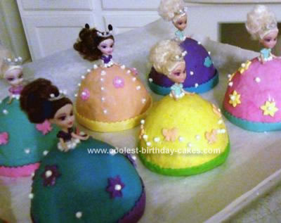 Coolest Mini Princess Cakes
