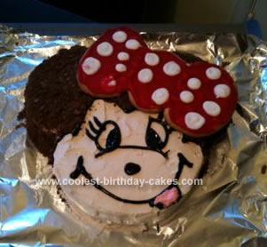 Fantastic Coolest Minnie Mouse Birthday Cake Funny Birthday Cards Online Alyptdamsfinfo