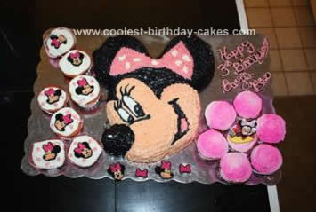 Wondrous Coolest Minnie Mouse Birthday Cake Funny Birthday Cards Online Alyptdamsfinfo
