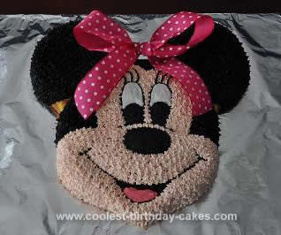 Outstanding Coolest Minnie Mouse Birthday Cake Design Funny Birthday Cards Online Barepcheapnameinfo