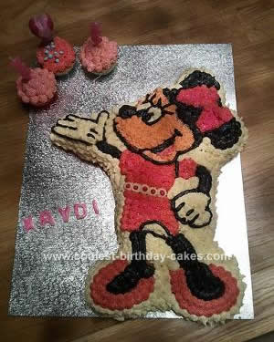 Super Coolest Minnie Mouse Birthday Cake Design Funny Birthday Cards Online Barepcheapnameinfo