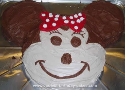 Marvelous Coolest Minnie Mouse Cake Funny Birthday Cards Online Barepcheapnameinfo