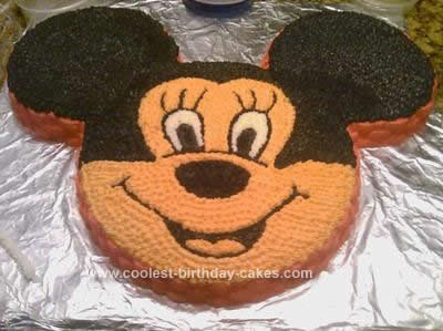 Coolest Minnie Without The Bow Cake