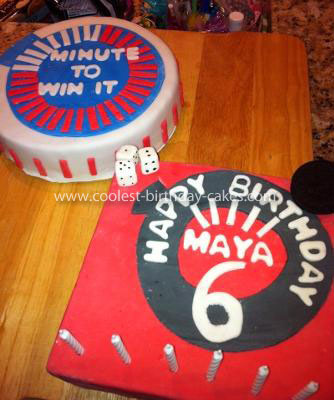 Coolest Minute to Win It Birthday Cake
