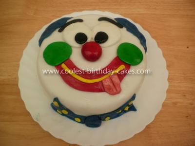 Homemade Mister Tumble Cake