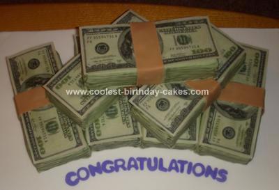 Homemade Money Cake