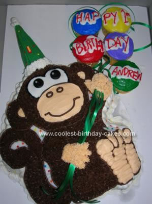 Homemade Monkey Around Cake