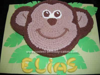 Swell Coolest Monkey Birthday Cake Design Funny Birthday Cards Online Kookostrdamsfinfo