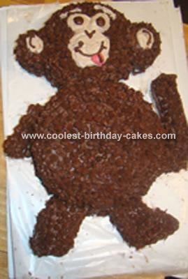 Furry Monkey Cake