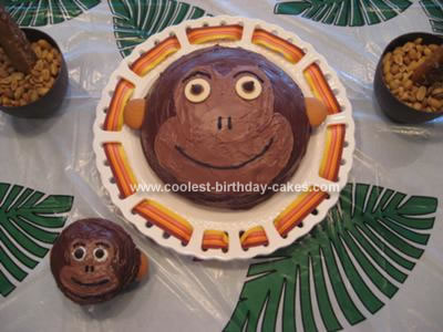 Homemade Monkey Cake