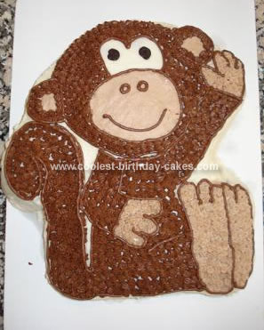 Homemade Monkey Cake
