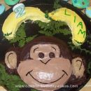 Homemade Monkey Face Cake