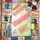 Homemade Monopoly Cake