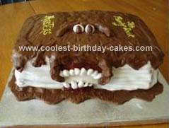 Monster Book Cake