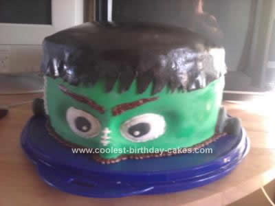 Homemade Monster Cake