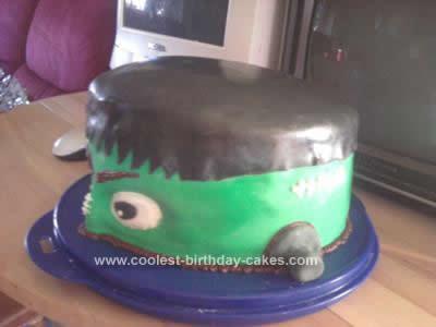 Homemade Monster Cake