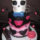 Homemade Monster High Draculaura Birthday Cake
