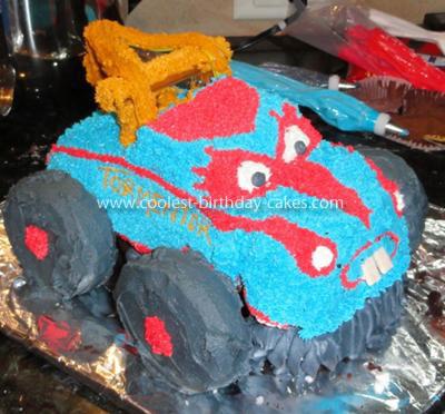 Coolest Monster Truck Mater Cake