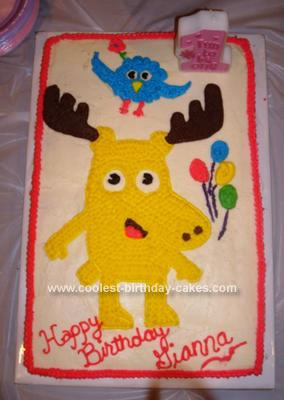 Prime Coolest Moose A Moose And Zee Cake Funny Birthday Cards Online Overcheapnameinfo
