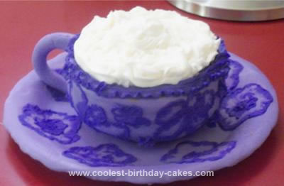 Homemade Mother's Day Teacup Cake