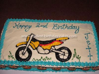 Coolest Motorbike Cake
