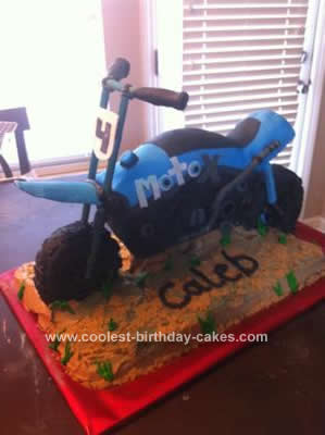 Homemade MotoX Supreme Birthday Cake