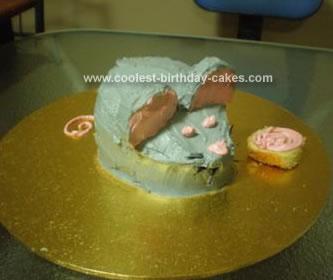 Homemade Mouse Cake