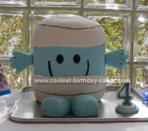 Homemade Mr. Bump Cake