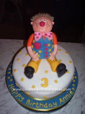 Homemade Mr. Tumble Cake