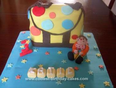 Homemade Mr Tumble Cake