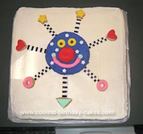 Homemade  Mr. Whoozit Cake