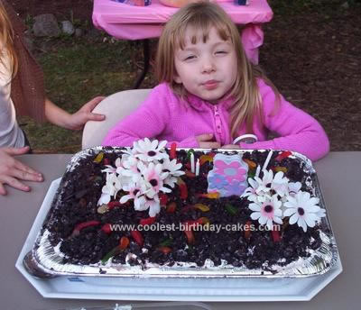 Homemade Mud Birthday Cake