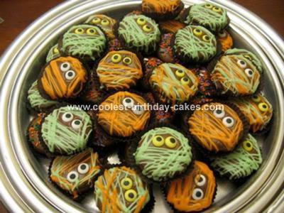Oreo Mummie Cupcakes