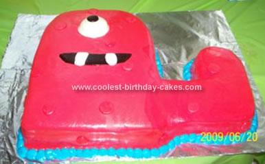 Homemade Muno Birthday Cake