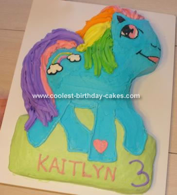 My Little Pony Cake - Rainbow Dash