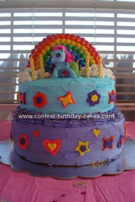 Terrific Coolest My Little Pony Rainbow Dash Cake Funny Birthday Cards Online Eattedamsfinfo