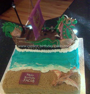 "Homemade ""Narnia: Voyage of the Dawn Treader"" Cake"