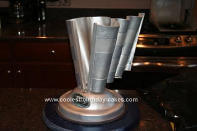 Official Sprint Cup Trophy Cake