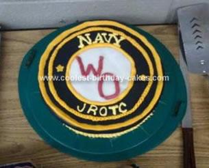 Navy JROTC Emblem Cake