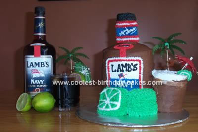Lamb's Navy Rum Cake