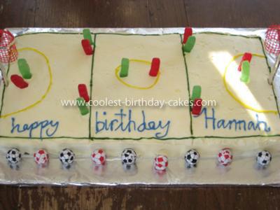 Coolest Netball Cake