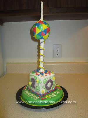Homemade New Year's Cake