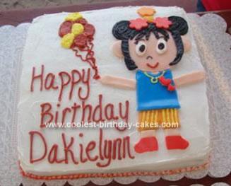 Homemade Ni Hao Kai Lan Cake