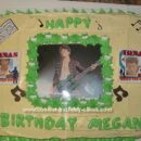 Homemade Nick Jonas Birthday Cake